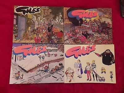 Giles Annuals 4 Cartoon Books all from Series 40 see pictures