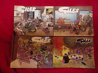Giles Annuals 4 Cartoon Books NUMBERS 13,40,43, & giles94 classics see pictures