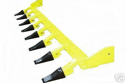 Bobcat Skid Steer Loader Tractor Bucket Teeth Tooth Bar