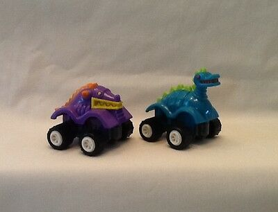 Vintage Burger King Kids Club Meal Toy Dino Crawlers