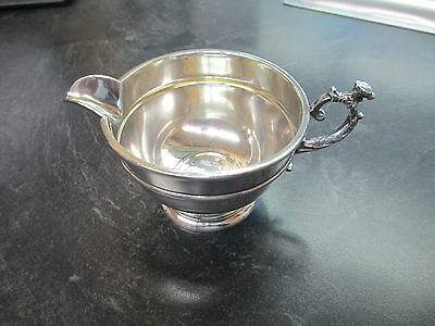 Antique Sterling Silver Creamer Cup #62 Signed Rd Beautiful Design