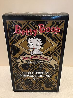 Betty Boop Special Edition Musical Figurine 1960's Picture Me, Baby New In Box!