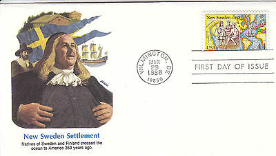 US FDC Sc# C 117,C118,C119 on 3 Air Mail covers year 1988 - US 8260