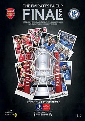* 2017 FA CUP FINAL PROGRAMME - ARSENAL v CHELSEA *