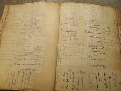 Great Giant 1892 PRESCRIPTION ledger with Hudson NY Druggist Billheads