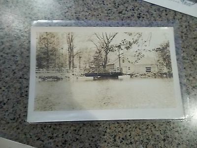 Old Real Photo Postcard -  View of Pond, Old Chatham, NY