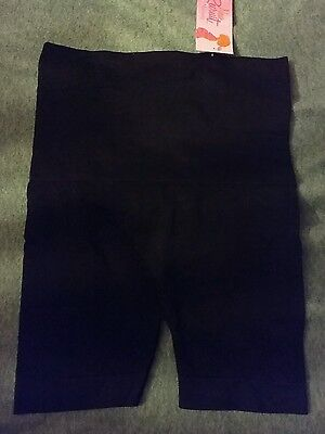 Women's New Recruit Maternity slimming under shorts black M medium NEW NWT