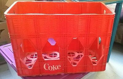 Vintage Coca-Cola Crate 2-Liter Bottle Coke Carrier-Crate 8 Pack Tall