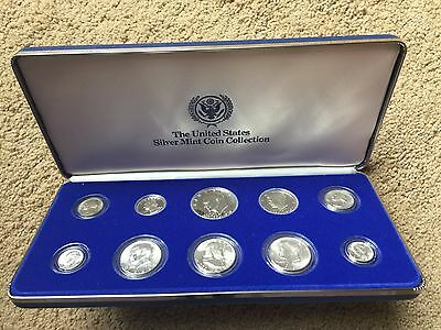 United States Silver Mint Coin Collection (10 coins)