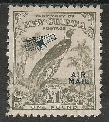 New Guinea 1932 Undated Bird Airmail 1 Pound Used