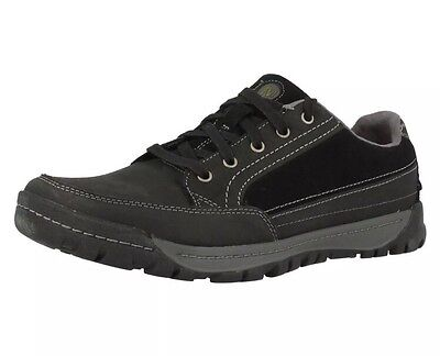 New Merrell Traveler Sphere Black Leather & Suede Shoes Mens 12 M