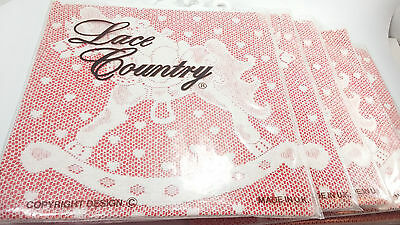 Lot Vtg Lace Country UK Curtain Curtains Baby Room Nursery Rocking Horse Teddy