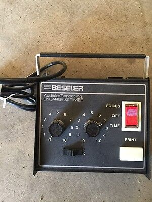 Beseler Audible Repeating Electronic Enlarging Timer. #8177