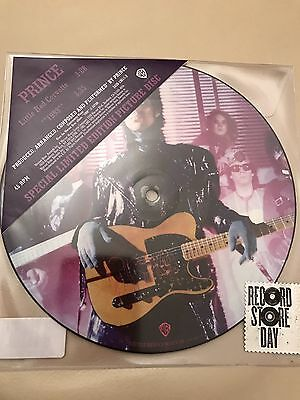 """Prince - Little Red Corvette/1999 7"""" Picture Disc Vinyl Record Store Day 2017"""