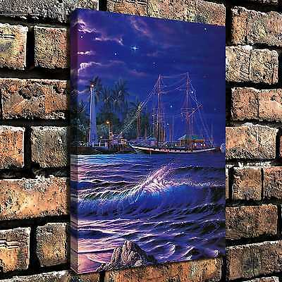Deep blue sea Paintings HD Print on Canvas Home Decor Wall Art Pictures posters