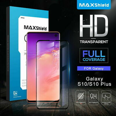 Galaxy S10 5G S9 Plus S8 S7 Edge 4D Tempered Glass FullCover Screen Protector