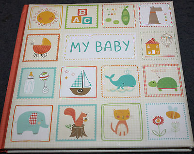Hardcover Padded Book - MY BABY BOOK - A fill In Keepsake Book