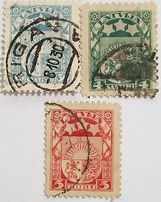 Latvia  Used  Stamps ...worldwide Stamps
