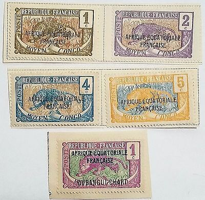 Middle Congo Scu999Jj Unused/h Stamps/mounted   ....worldwide Stamps
