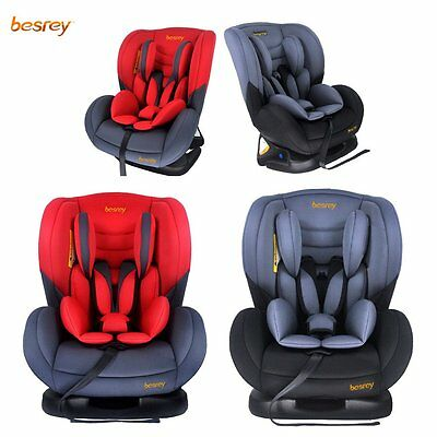 Safety Warranty Besrey Convertible 3-in-1 Baby Car Seat -THREE TILT ANGLE