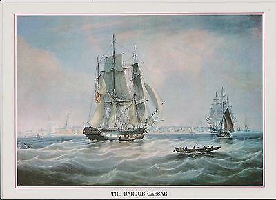 (K22-1)  Story of the post the BARQUE CAESAR picture & text