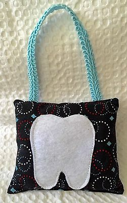 """** """"Olympic Rings"""" - Tooth Fairy Pillow - NEW"""