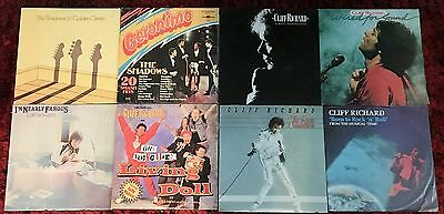 CLIFF RICHARD & THE SHADOWS - Bulk Lot of Vinyl LP RECORDS
