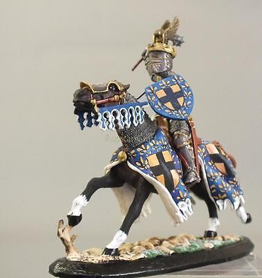 Tin Soldier, semi-collector painted,TRC, knight № 12, 54 mm,tourney, Middle Ages