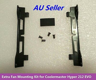 Extra Second 120mm Fan Mounting Kit for Coolermaster Hyper 212 EVO CPU Cooler