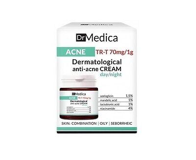 Bielenda Dr Medica Acne Dermatological Anti-Acne Face Cream Day / Night