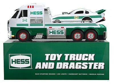 2016 Hess Toy Truck and Dragster New in box (Sold Out)