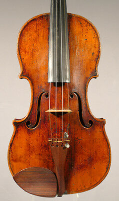 Beautiful and interesting old French violin 1830-50 ready to play