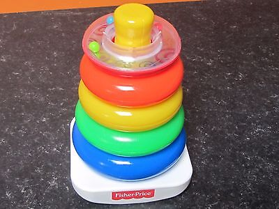 Fisher Price Rock a Stack, Ring Stack for Baby - Toddler.