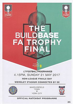 2017 FA TROPHY YORK v MACCLESFIELD  &  FA VASE FINAL SOUTH SHIELDS v CLEETHORPES
