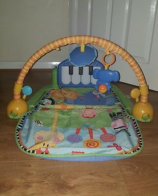 Fisher Price Kick and Play Piano Baby Activity Playmat
