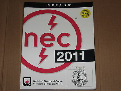 NEC 2011 NFPA 70 National Electric Code Book - Mint