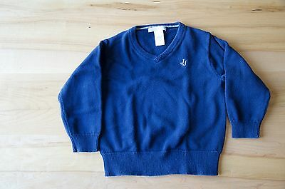 Janie and Jack Boys Navy Cotton Sweater size 2T