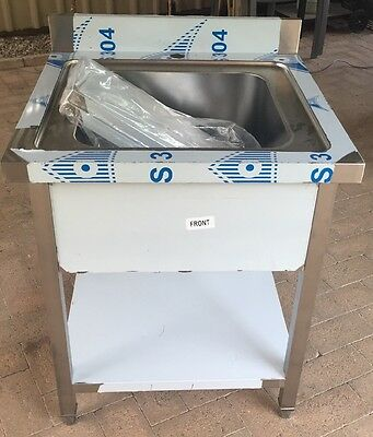 700 X 700 New Commercial Single Sink 304 Stainless Steel