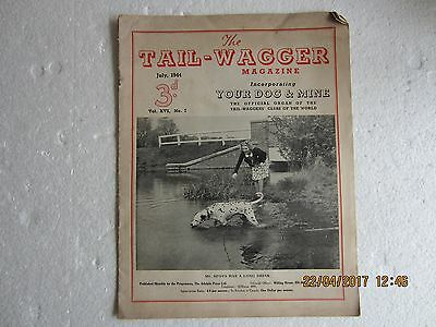 Vintage Tail-Waggers Magazines X 6-Wwii Issues-1944