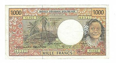 French Pacific Territories - 1000 Francs   1996