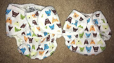 thirsties cloth diaper covers Size 1 And 2