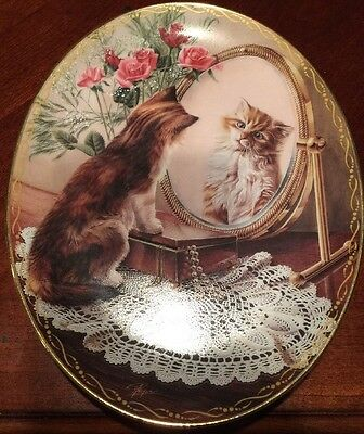 The Fairest of Them All Peter Fryer Bradford Exchange Oval Plate
