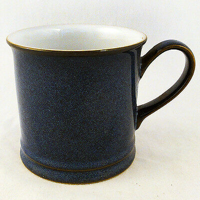 "IMPERIAL BLUE by DENBY MUG 3.5"" tall NEW NEVER USED made in England"