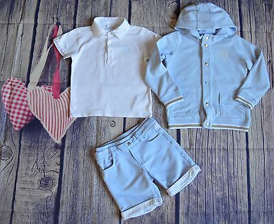 Gucci Boys Designer Clothes Bundle Hooded Jacket Polo Shorts 2-3 Years Good