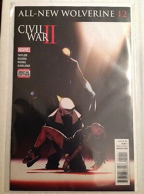 All New Wolverine #12 (NM)`16 Taylor/ Guara