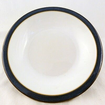 "IMPERIAL BLUE by DENBY RIM SOUP BOWL 8.25"" diameter NEW NEVER USED England"