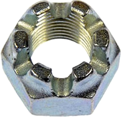 Dorman 814-065 Castle Hex Nut - 9/16-18, Pack of 4 - Free 2 Day Shipping