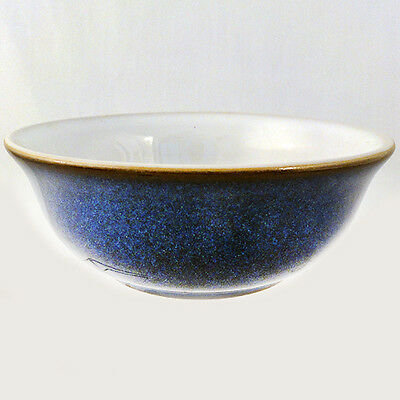 "IMPERIAL BLUE by DENBY Individual CEREAL BOWL 5.75"" NEW NEVER USED made England"