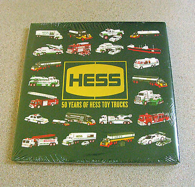 2014 50th Anniversary 50 Years of Hess Toy Trucks Hard Cover Book - Sealed