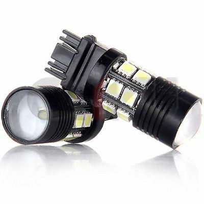 2x 3157 Projector 12 SMD LED Bulbs Daytime running Light Xenon Bright White